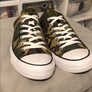 Camouflaged All Star Converse